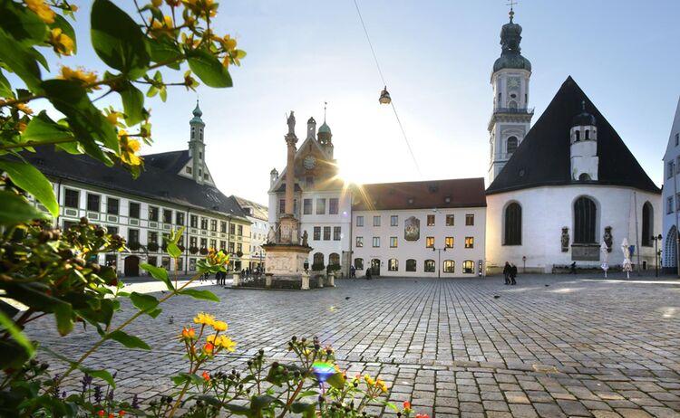 Freisinger Marienplatz © TI Freising Rainer Lehmann
