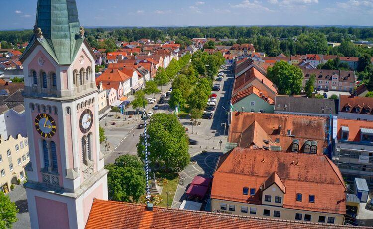 Kirchturm Stadtplatz Copy
