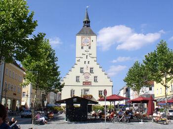 Luitpoldplatz Innenstadt Stadt Deggendorf
