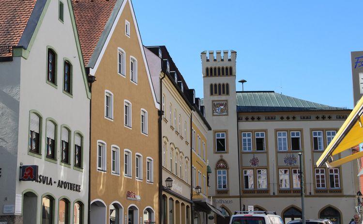 Moosburg An Der Isar Stadtplatz Rathaus Moosburg Marketing Eg