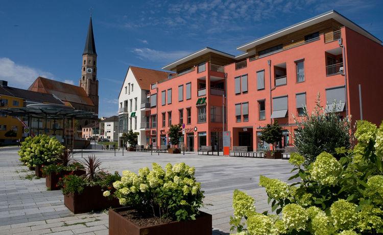 Spitalplatz Stadt Dingolfing